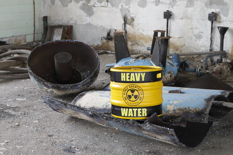 Fukushima Heavy Water (Fotó: MONYO Brewing Co. Facebook)