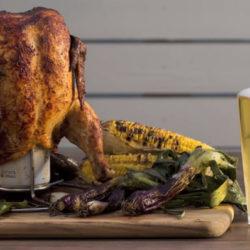Nincs ennél jobb videó a sörre ültetett csirkéről!