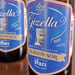 Gizellának szólítják Veszprém saját sörét