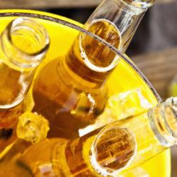 Csak az ásványvíz palackozók és a sörfőzők örülnek a melegnek