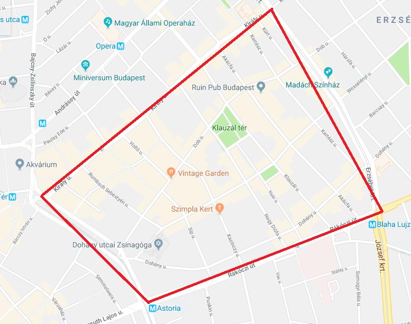 buli térkép budapest A bulinegyed vége?!   februárban népszavazás dönt – BeerPorn buli térkép budapest