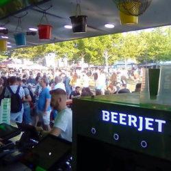 Több mint 150 ezer kicsapolt sör - a zenei fesztiválokat is bevette nyáron a Beerjet