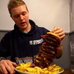 Majdnem 24 Big Mac-kel ér fel a legdurvább angliai burger