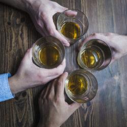 Bezuhant a skót whisky export