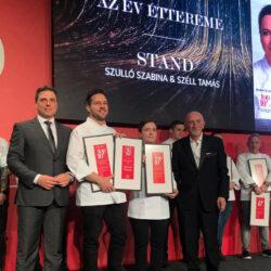Nem történt sok meglepetés a Dining Guide Év Étterme díjátadón