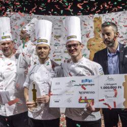 Veres István nyerte a Bocuse d'Or magyar döntőjét