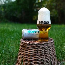 Divatos, könnyed nyári sörnek írták le tesztelői a Borsodi Hoppyt
