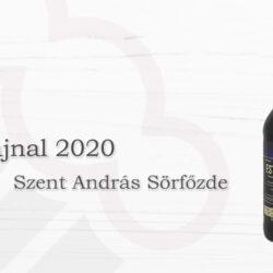 Szent András Sörfőzde Esthajnal 2020
