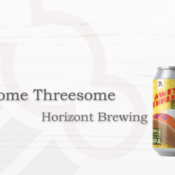 Horizont Brewing Awesome Threesome