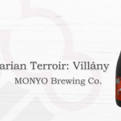 Monyo Brewing Hungarian Terroir: Villány