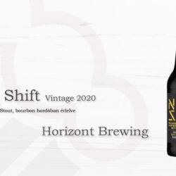 Horizont Brewing Night Shift Vintage 2020 - Russian Imperial Stout bourbon hordóban érlelve