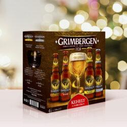 Ezekkel a sörcsomagokkal készülj fel az ünnepekre: Grimbergen karácsonyi csomag