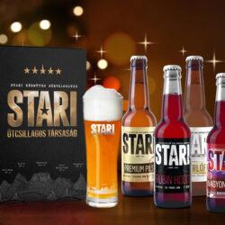 Ezekkel a sörcsomagokkal készülj fel az ünnepekre: Stari Ötcsillagos Társaság
